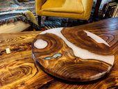 Elm Couchtisch und passende Susan. 🤔. . . . . . . . . . #wooddesign #woodw …   – woodart