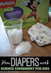 How Diapers Work – Science Experiment for Kids