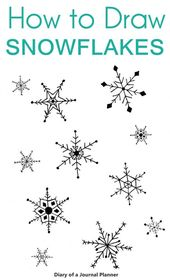 So zeichnen Sie eine Schneeflocke: Einfache Schneeflocke zeichnen Schritt für Schritt Tutorial #artanddrawing Einfache Schritt für Schritt Schneeflocke Gekritzel und Zeichnung Tutorials für y …
