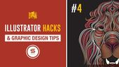 Illustrator Shortcuts  ADOBE ILLUSTRATOR USEFUL HACKS #4 | Super Shortcuts For Illustrator 2017...