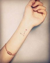 Pisces Constellation Tattoo | Tattoo Ideas and Inspiration,  #Constellation #ideas #Inspirati…