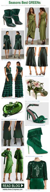 Wie trage ich Grün. Was trägt man zu Grün. Grüne Outfit-Ideen. Grüne Mode. Was geht mit Grün.   – Winter Fashion / Outfits