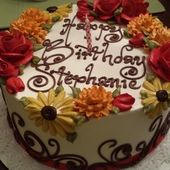 Herbst-Themen-Blechkuchen – Google-Suche   – cake and cupcake decorating ideas
