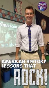 US Historical past actions and lesson plans that ROCK! College students of Historical past offers you …