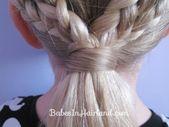 2 geflochtene Herzen | Valentinstag-Frisur – Babes In Hairland