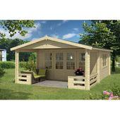 Garten Living 540 cm x 663 cm Gartenhaus Trevion