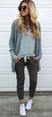 Beste 21 lässige Herbst-Outfit-Ideen für Sie zum Stehlen www.fashiotopia.c … Egal