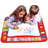 80 x 60 cm Baby Kinder Wasser mit Magic Pen Doodle Malerei Bild Wasser Zeichnung Spielmatte in Zeichnung Spielzeug Bord Geschenk Weihnachten