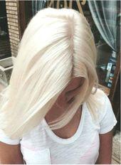 20 short ice cream blonde hair color, blonde hairstyles, white, platinum, blonde bob hairstyles, waves – bargain top trends … # hairstyles #blonde #bob #ice
