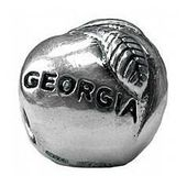 Georgia Peach Charm Charms for Bracelets and Necklaces