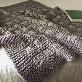Baby Blanket Blanket KNITTING PATTERN / Westport Blanket / Throw / Afghan /