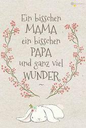 Glückwünsche zur Geburt » 20 kostenlose Babykarten