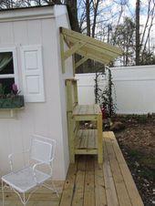 Waiting for potting table supplement, DIY, gardening, organizing, outdoor furniture   – DIY GArden
