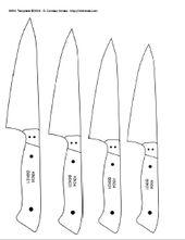 printable knife templates
