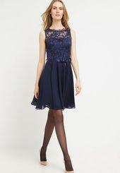 Cocktailkleid/festliches Kleid – dunkelblau @ Zalando.de ? #Cocktailkleidfestliches #Dunkelblau #FestlichesKleid
