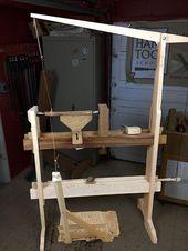 Dynamische Holzdrehmaschine für Einsteiger