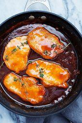 Maple Glazed Pork Chops | Creme de la Crumb
