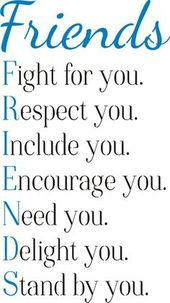 "Friends: Fight for you. Respect you… 11.5 x 20"" Stencil – bff"