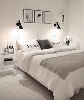 47 Beste Ideen für die Organisation kleiner Schlafzimmer   – Frisuren einfach