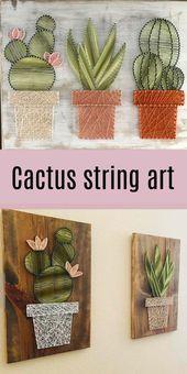 Besessen von dieser Kaktuskunst !! So schön!! #ad #affiliate #cactus #walla ……