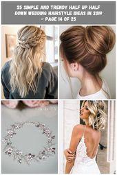 Prom / Hoco Haar, Hochzeit Hochsteckfrisuren; Braid Styles für langes oder mittellanges Haar; Einfache Frisuren für Frauen; Half Down Half Up Frisur; Elegante ...