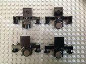 LEGO Train Four Buffer Beam mit schwarzer Deichsel und Magnetteil 4022c02 #a …   – First birthdays
