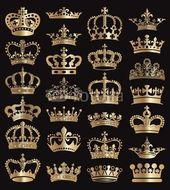Kronen-Vektor-Sammlung – #collection #Crowns #vector