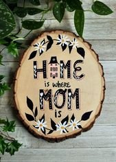 Gift for mom home is where mom is sign mom birthday gift for …