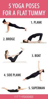5 Yoga Poses For A Flat Tummy