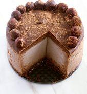 Schokoladen-Erdnussbutter-Käsekuchen [Vegan, Gluten-Free, Refined Sugar-Free]   – Decadence
