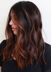 60 idées de couleur de cheveux brun chocolat pour les brunes   – Abschlussball