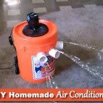 Diy 5 Gallon Bucket Air Conditioner Homemade Air Conditioner Bucket Air Conditioner Diy Air Conditioner