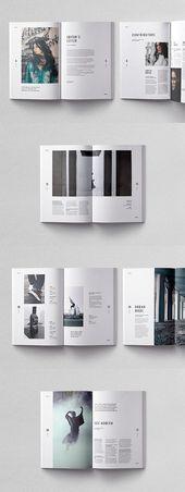 Plantilla de la revista Cult – #CultMagazineTemplate – #CultMagazineTemplate #portfolio   – Sonstiges