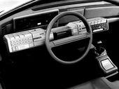 Alfa Romeo Delfino Bertone idea planche de bord salon de Genève 1983 – photograph…