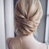 53 Schöne Elegante Festliche Frisuren   – Hair styles #Geflochtene Frisuren #Frisuren hochzeit #frisuren