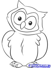 Pin By Vesla On Podelki S Evsyushej Owl Drawing Simple Owl Coloring Pages Owls Drawing