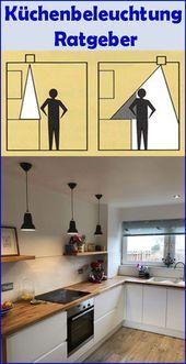 Küchenbeleuchtung Tipps: Die Küche ideal beleuchten