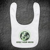Total Recall Öffnen Sie Ihren Verstand Kuato Science-Fiction-Actionfilm Arnie Arnold Schwarzenegger Inoffizielle Babylätzchen   – Products