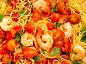 Recette: Bruschetta aux crevettes.   – Cuisine