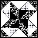 Free Quilt Block Clip Art in Black & White for Guild Newsletters Clip art Free quilting Quilt blocks