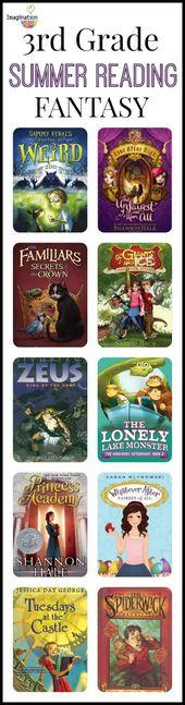 Liste de lecture d'été de 3e année (8 à 9 ans)   – Reading: Book Lists & Read Alouds