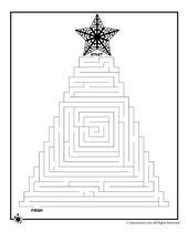 Printable Christmas Mazes – Products I Love
