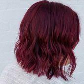 Glühwein Winter Haarfarbe Trend | OK POPSUGAR Schönheit   – Beauty Stuff and Whatnot