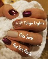 What a gorgeous blended Mani – so stylish! $34 and it's sufficient for three full mani…
