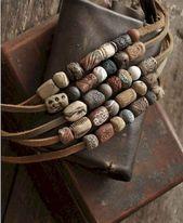 24+ Simple DIY Polymer Clay Beads Ideas –  #beads #clay #DIY #ideas #polymer #simple,  #beads…
