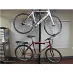 Feedback Sports Velo Column Bike Storage Rack Floor To Ceiling Mount Black 2 Bikes Feedback Sp In 2020 Bike Storage Bike Storage Rack Bike Storage Garage