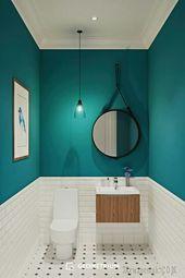 Groene jade  de trendy kleur voor chique en stijlvolle toiletten#Dekoration