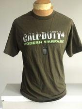 Call Of Duty 4 Modern Warfare t-shirt L  – Products