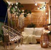 E EVERKING Macrame Swing Hängesessel-White / #EVERKING #HängesesselWhite #Macr… – Wintergar… – Decor Ideas For Home