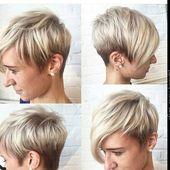 Versuch es mit noch helleren Haaren! 10 frische blonde Kurzhaarschnitte, die Dich strahlen lassen! – Neue Frisur